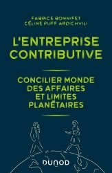 Dernières parutions sur Économie et politiques de l'écologie, L'entreprise contributive