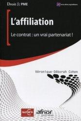 Dernières parutions dans Droit & PME, L'affiliation. Le contrat : un vrai partenariat ! majbook ème édition, majbook 1ère édition, livre ecn major, livre ecn, fiche ecn