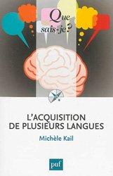 Dernières parutions sur Essais, L'acquisition de plusieurs langues