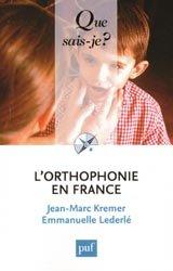 Dernières parutions dans , L'orthophonie en France