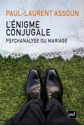 Dernières parutions sur Concepts - Notions, L'énigme conjugale : psychanalyse du mariage