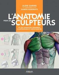 Dernières parutions sur Multimédia - Graphisme, L'anatomie pour les sculpteurs