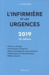 Nouvelle édition L'infirmière et les urgences 2019