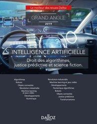 Dernières parutions dans Dalloz Grand angle, L'intelligence artificielle - Nouveauté