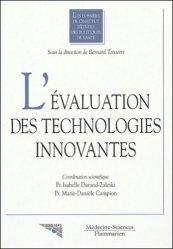 Dernières parutions dans Les dossiers de l'IEPS, L'évaluation des technologies innovantes