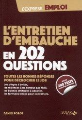 Dernières parutions sur Entretiens, L'entretien d'embauche en 202 questions