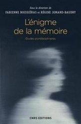 Dernières parutions sur La mémoire, L'énigme de la mémoire