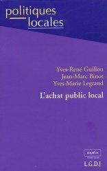 Dernières parutions dans politiques locales, L'achat public local