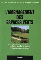 Souvent acheté avec Filière Pépinière de la production à la plantation, le L'aménagement des espaces verts