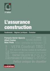 Dernières parutions sur Règlementation, L'assurance construction