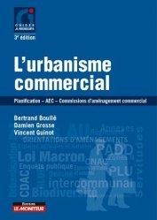 Dernières parutions dans Guides juridiques, L'urbanisme commercial