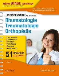 Dernières parutions sur UE 2.4 Processus traumatiques, L'indispensable en STAGE de Rhumatologie - Traumatologie - Orthopédie