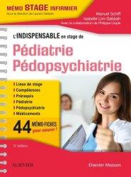 Dernières parutions sur Pédiatrie, L'indispensable en stage de Pédiatrie - Pédopsychiatrie