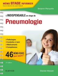 Nouvelle édition L'indispensable en stage de pneumologie