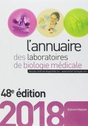 Nouvelle édition L'annuaire des laboratoires d'analyse de biologie médicale