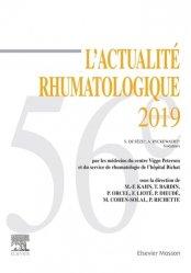 Dernières parutions sur Rhumatologie, L'actualité rhumatologique 2019