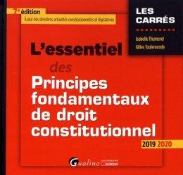 Souvent acheté avec L'essentiel des grands arrêts du droit des obligations, le L'essentiel des principes fondamentaux de droit constitutionnel