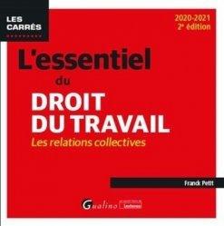 Dernières parutions dans Les Carrés, L'essentiel du droit du travail