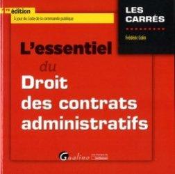 Dernières parutions dans Les Carrés, L'essentiel du droit des contrats administratifs