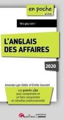 Dernières parutions sur Anglais spécialisé, L'anglais des affaires. Edition 2020-2021