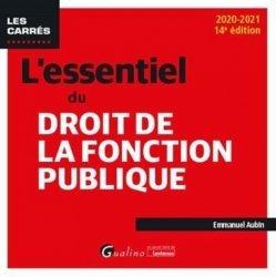 Dernières parutions dans Les Carrés, L'essentiel du droit de la fonction publique