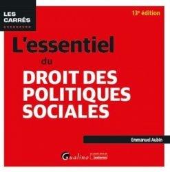 Dernières parutions dans Les Carrés, L'essentiel du droit des politiques sociales