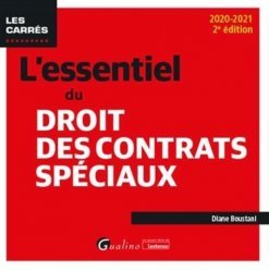 Dernières parutions sur Autres ouvrages de droit des affaires, L'essentiel du droit des contrats spéciaux
