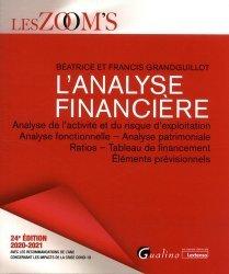 Dernières parutions dans Les Zoom's, L'analyse financière