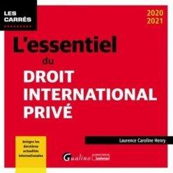 Dernières parutions dans Les Carrés, L'essentiel du droit international privé. 8e édition