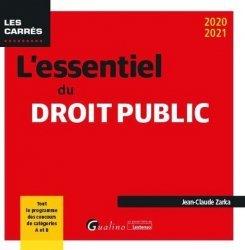 Dernières parutions sur Autres ouvrages de droit public, L'essentiel du droit public
