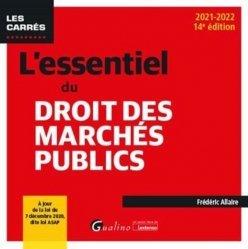Dernières parutions sur Marchés publics, L'essentiel du droit des marchés publics