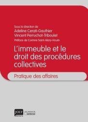 Dernières parutions dans Pratique des affaires, L'immeuble et le droit des procédures collectives