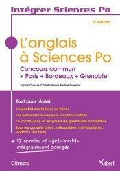 Nouvelle édition L'anglais à Sciences Po