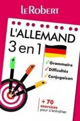 Dernières parutions sur Outils d'apprentissage, L'allemand 3 en 1