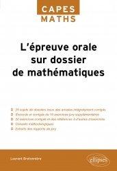 Souvent acheté avec Mathématiques tout-en-un MPSI, le L'épreuve orale sur dossier