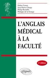 Souvent acheté avec L'anglais des spécialités médicales, le L'anglais médical à la faculté