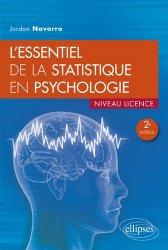 Dernières parutions sur Psychologie pour les étudiants, L'essentiel de la statistique en psychologie