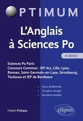 Dernières parutions dans Optimum, L'anglais  sciences PO