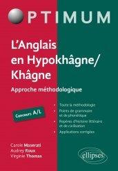 Dernières parutions sur Auto apprentissage, L'Anglais en Hypokhâgne / Khâgne