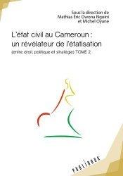 Dernières parutions sur Sciences politiques, L'état civil au Cameroun : un révélateur de l'étatisation
