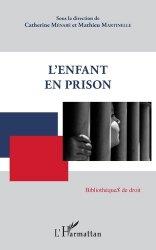 Dernières parutions dans BibliothèqueS de droit, L'enfant en prison