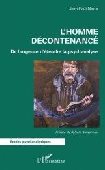 Dernières parutions dans Etudes psychanalytiques, L'Homme décontenancé