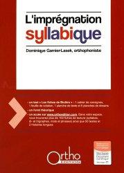 Nouvelle édition L'imprégnation syllabique