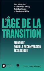 Dernières parutions dans Essai, L'âge de la transition