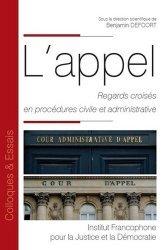 Dernières parutions dans Colloques & Essais, L'appel. Regards croisés en procédures civile et administrative