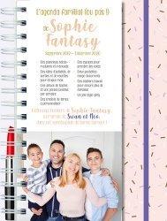 Dernières parutions sur Vie de famille, L'agenda familial (ou pas) de Sophie Fantasy. Avec 1 stylo girly, Edition 2019-2020