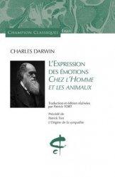 Dernières parutions sur Sciences de la Vie, L'expression des émotions chez l'homme et les animaux