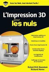 Dernières parutions sur 3D, L'impression 3D pour les nuls