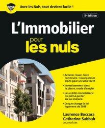 Dernières parutions sur Logement guides pratiques, L'immobilier pour les nuls. 5e édition