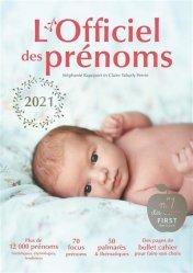 Dernières parutions sur Prénoms - Albums de bébé, L'officiel des prénoms